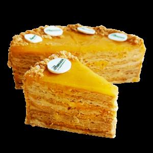 Наполеон - Торт Наполеон Мандариновый