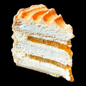 Чізікей та Макарон - Чизкейк - Бисквитный чиз с персиком